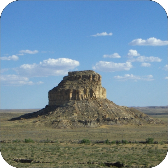 Fajada Peak - Chaco Culture Area, New Mexico